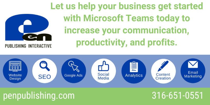Pen Publishing Interactive can help your business get started with Microsoft 365 and Microsoft Teams. We have all your online business solutions and business collaboration basics in one place.