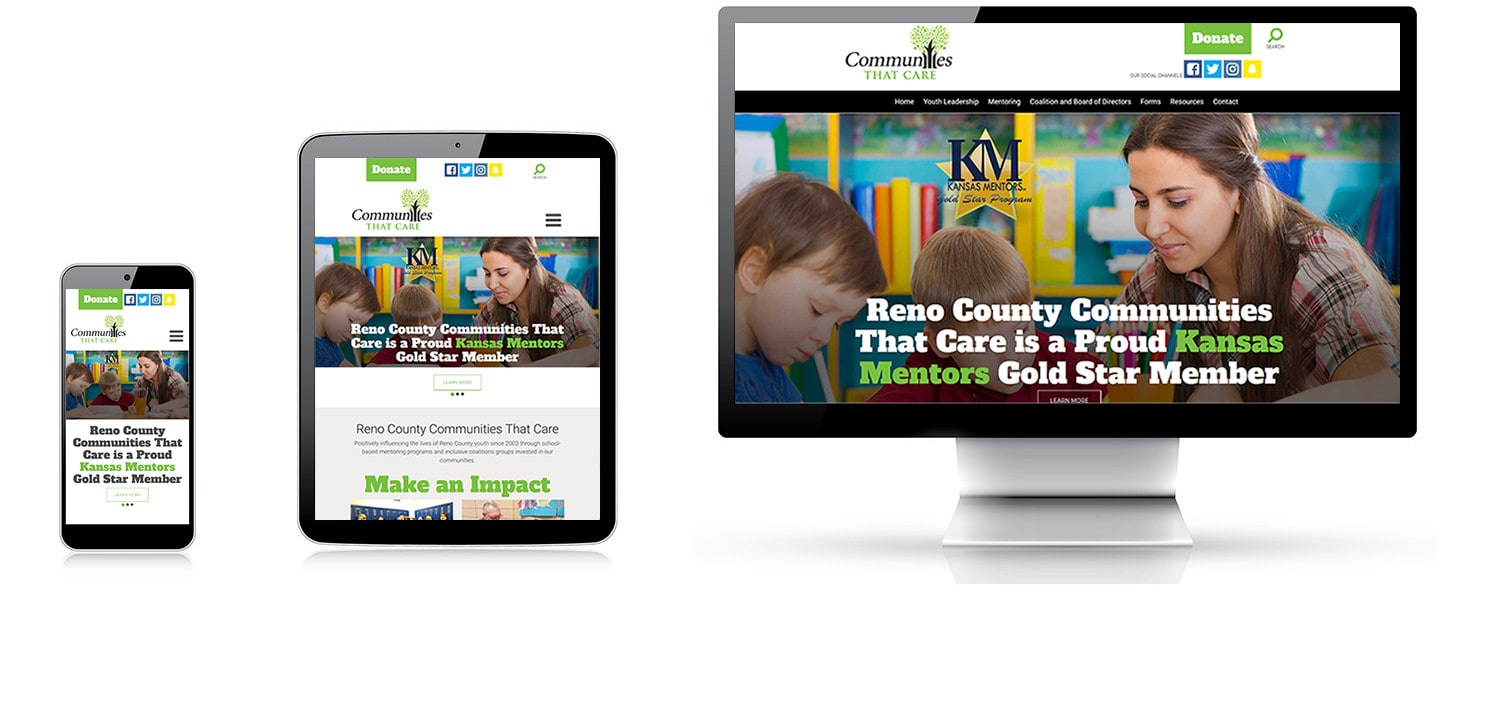 responsive web design from a local Wichita web design agency