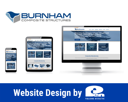 Website Design by Pen Publishing Interactive for Burnham Composit Structures