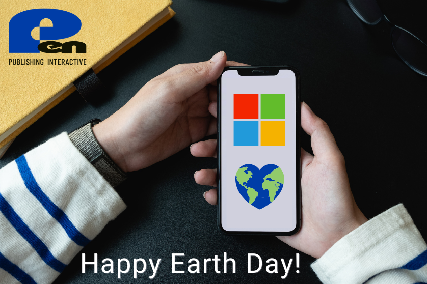 Happy Earth Day from Pen Publishing Interactive